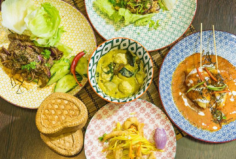 Asiatisches Menü für 8 Personen